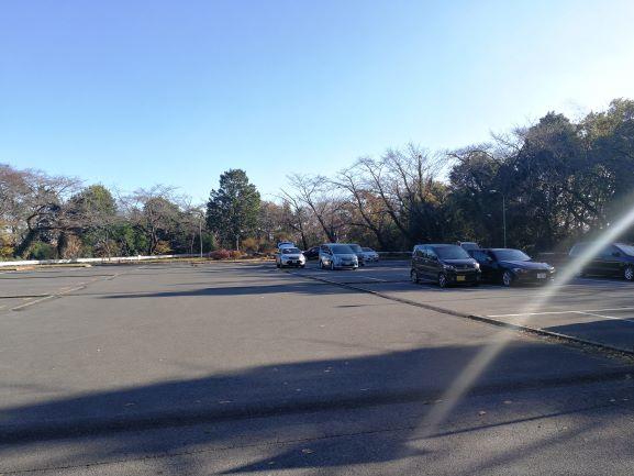まだまだ空いている大曲駐車場