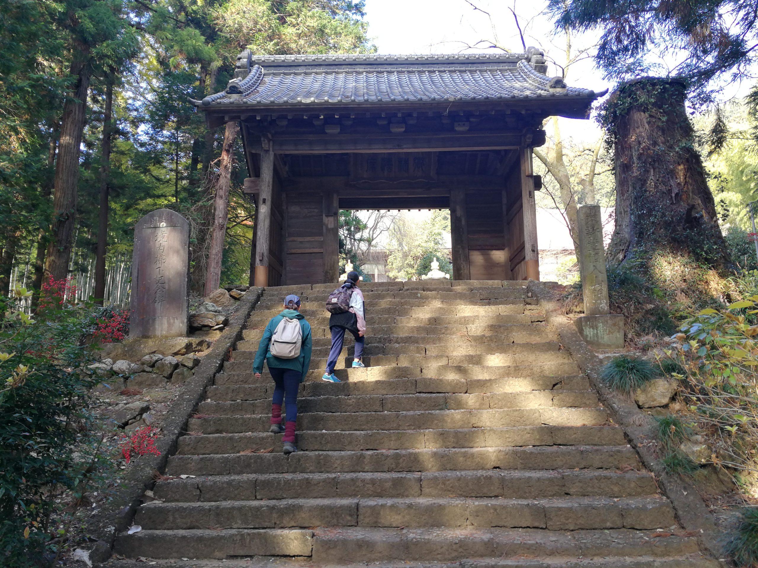 大中寺の階段
