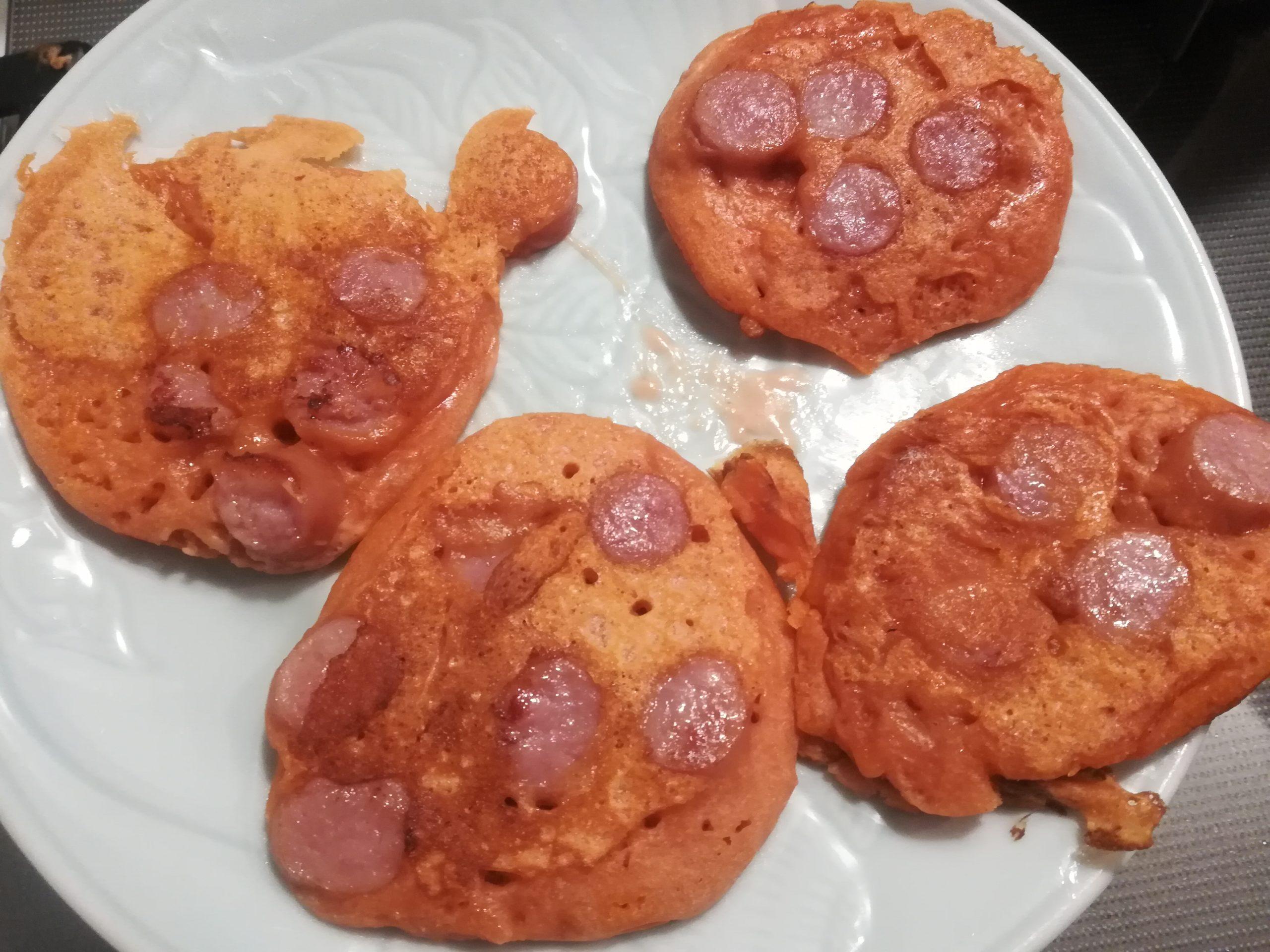 「血のパンケーキ」完成!